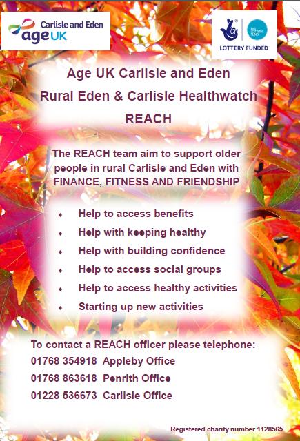Rural Eden & Carlisle Healthwatch