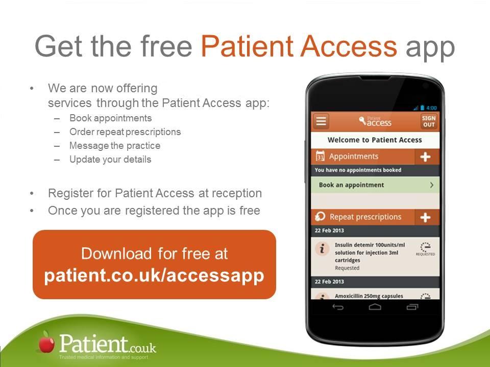 Patient Access App