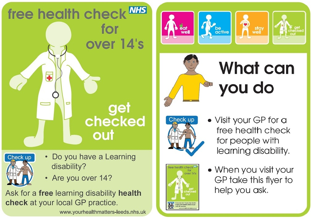 Health Check leaflet