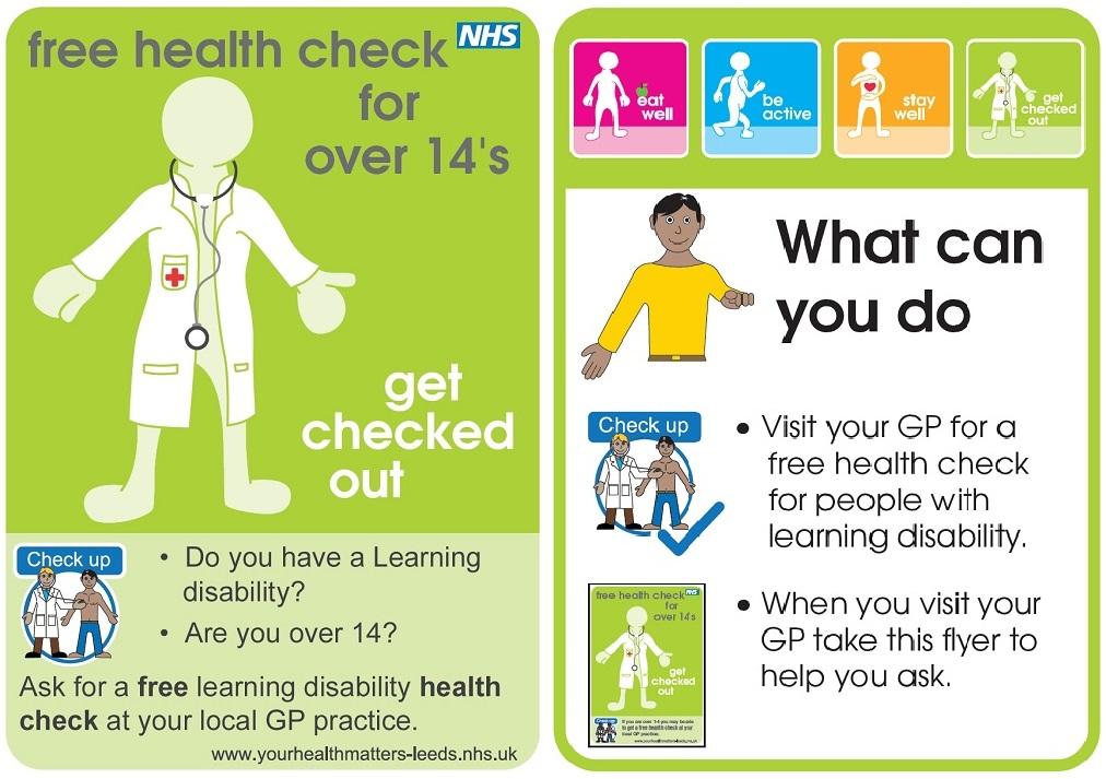 Health Check leaflet