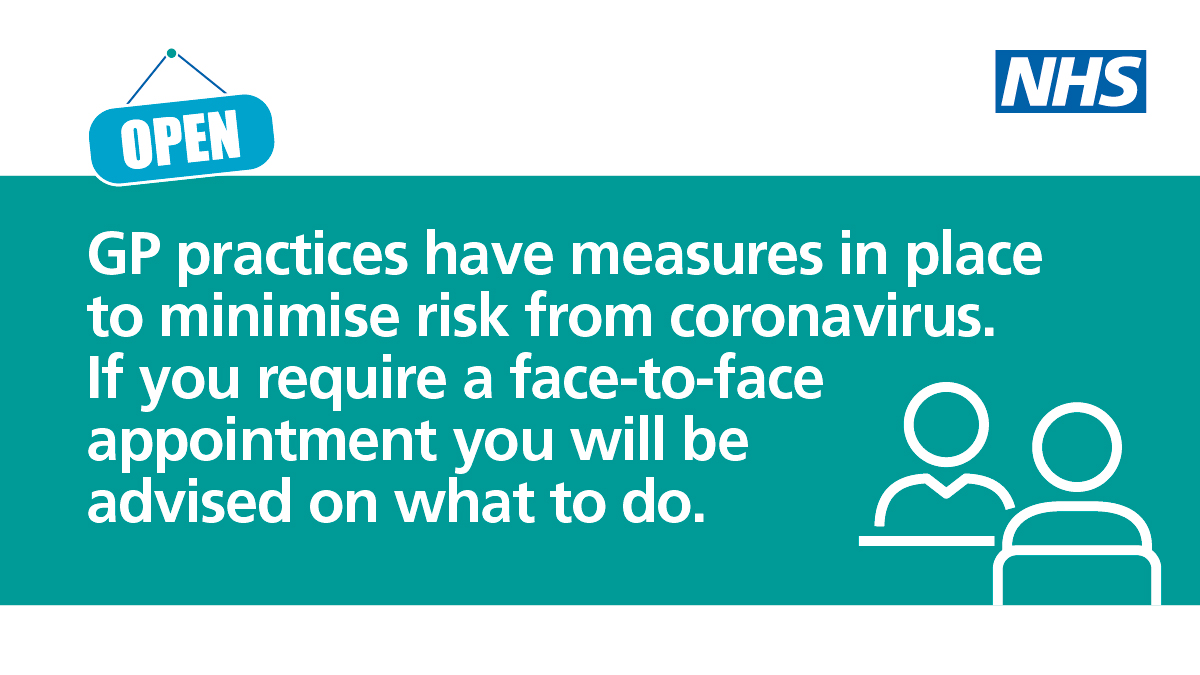 GP practices have measures to minimise risk from coronavirus